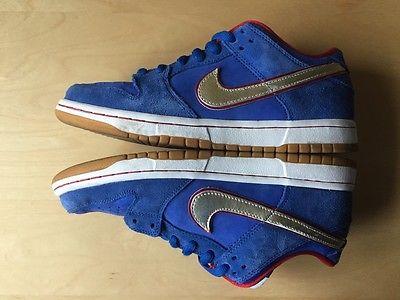 Nike SB Koston Dunk Skateboard shoes sz 8 Janoski P Rod black anderson bruin