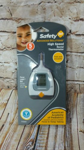 Safety 1st First, High Speed 5 Second Rectal Thermometer Fast Accurate NWT