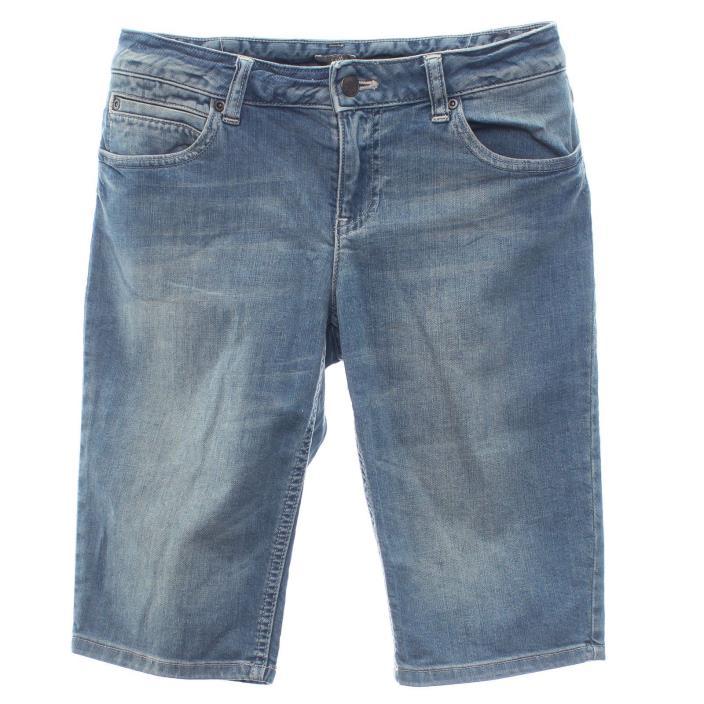 J. Jill Size 4 Stretch Denim 5 Pocket Womens Bermuda Jean Shorts