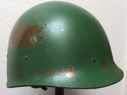 M1 1966-1969 Dated Infantry Helmet Liner Vietnam Era Army USMC