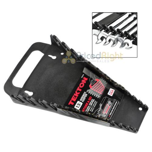 13 Slot Wrench Organizer Holder Tray Portable Rack Tekton Tools 79349 Metric SAE