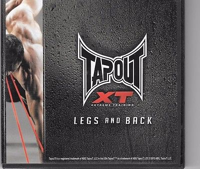 Tapout XT  legs and back