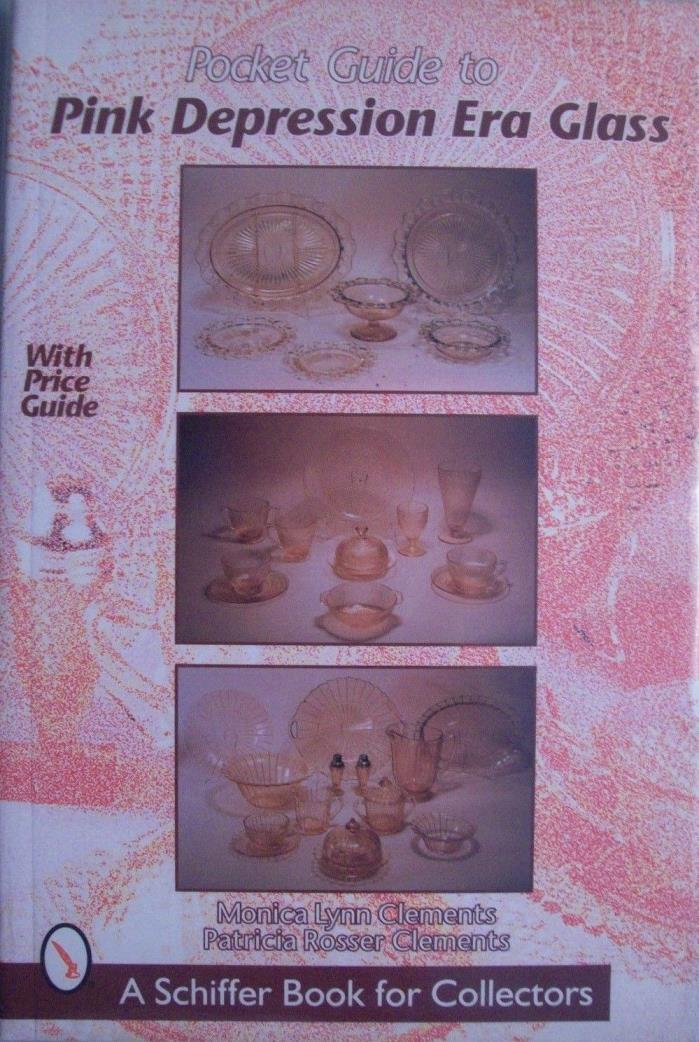 VINTAGE PINK DEPRESSION GLASS PRICE GUIDE COLLECTOR'S BOOK