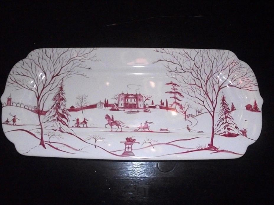 JULISKA COUNTRY ESTATE WINTER MAIN HOUSE TRAY 15