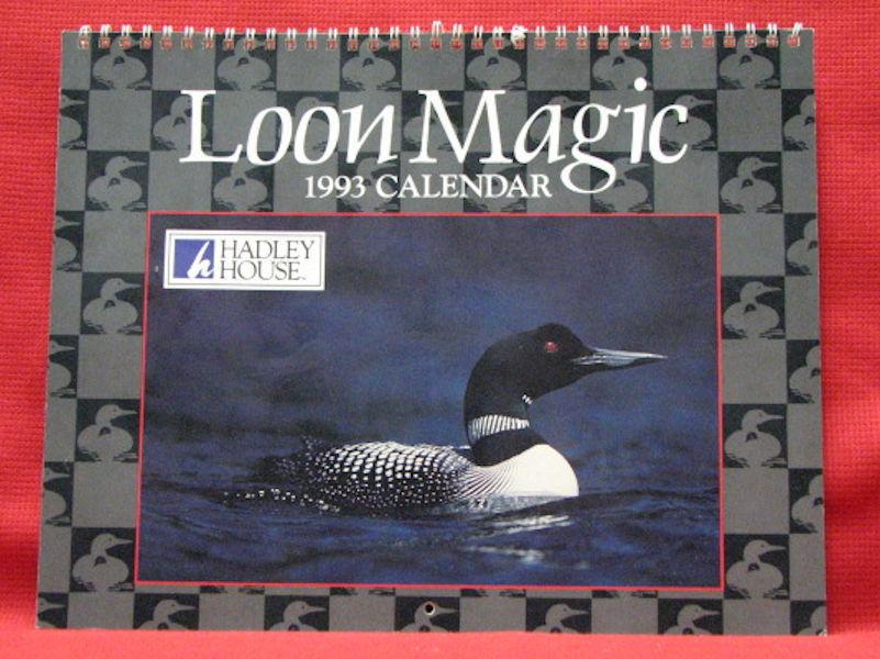 UNUSED calendar - 1993 - Loon Magic