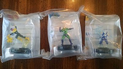 DC Heroclix SINESTRO, LEX LUTHOR, and CAPTAIN COLD OP Kit