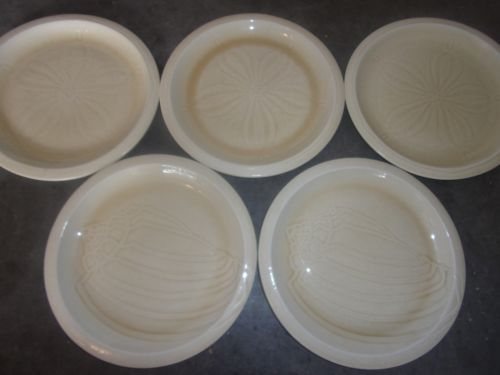 FRANCISCAN SEA SCULPTURES - LOT OF 5 DINNER PLATES 10 5/8