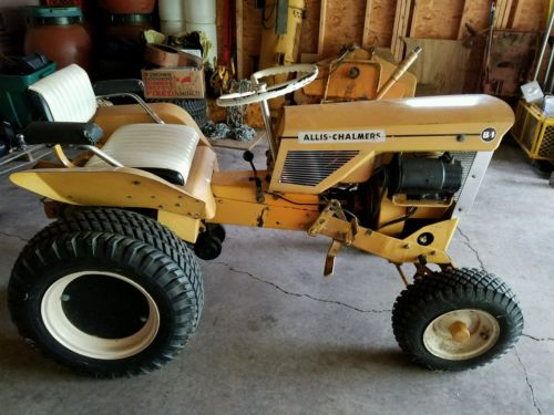 Allis Chalmers B-1  b1 garden  tractor  b-10  roto tiller simplicity lawn mower