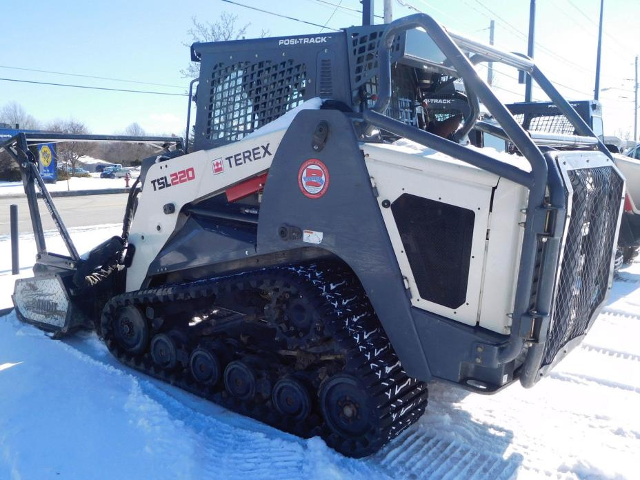 Terex TSL2220 Rubber Track Skid Steer Loader