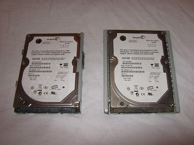 2-PS3 Seagate 60GB with Cradle Hard Drive Pulled From working  PS3