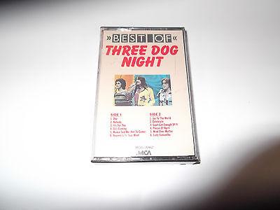vintage 12 Hits Best of Three dog Night CASSETTE Tape 1988 4441