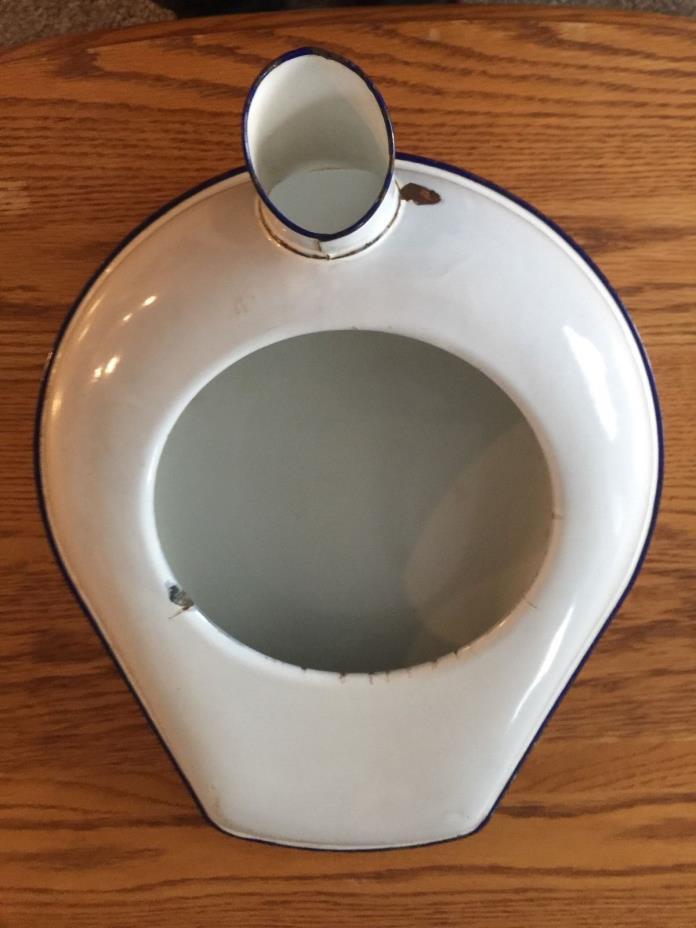 CESCO Porcelain Hospital Ware Bed Pan