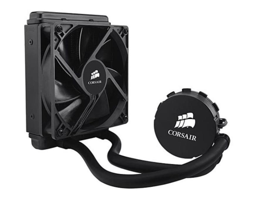CORSAIR Hydro Series H50 120MM Quiet Edition Liquid CPU Cooler - INTEL ONLY-
