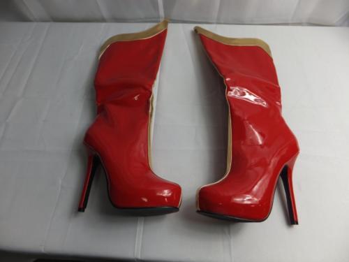 Ellie Shoes Women's 517-Comet Combat Boot Size 7
