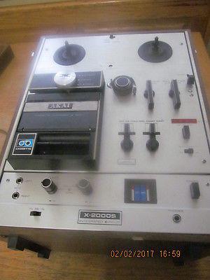 AKAI cross-field X-2000S Reel to Reel - Cassette and 8-Track