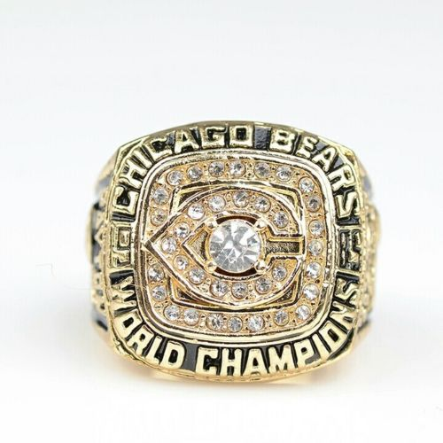 1985 Walter Payton Chicago Bears Super Bowl Champion Ring
