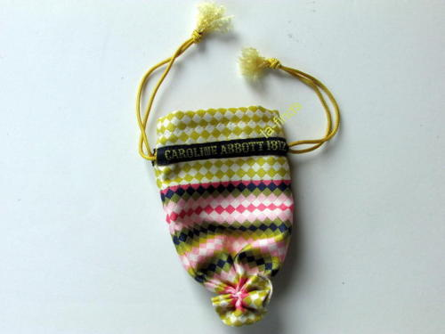 AMERICAN GIRL DOLL CAROLINE'S DRAWSTRING PURSE great for Felicity Cecile New