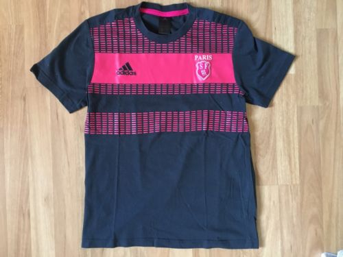 Adidas Stade Francais Rugby Shirt Casual