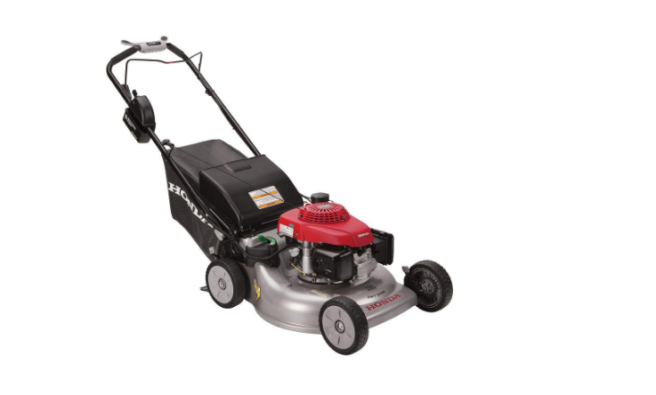 Honda 21in Steel Deck Electric Start Gas Self Propelled Mower with Clip Director