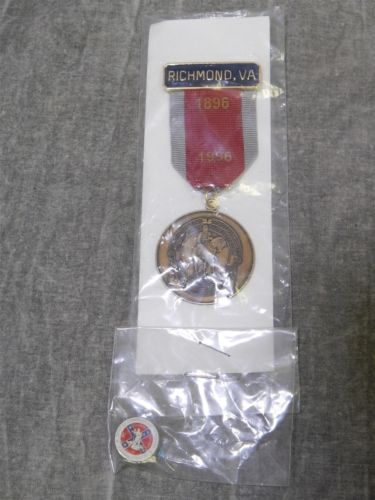 Sons of Confederate Veterans Reunion Medal 1996 with pin