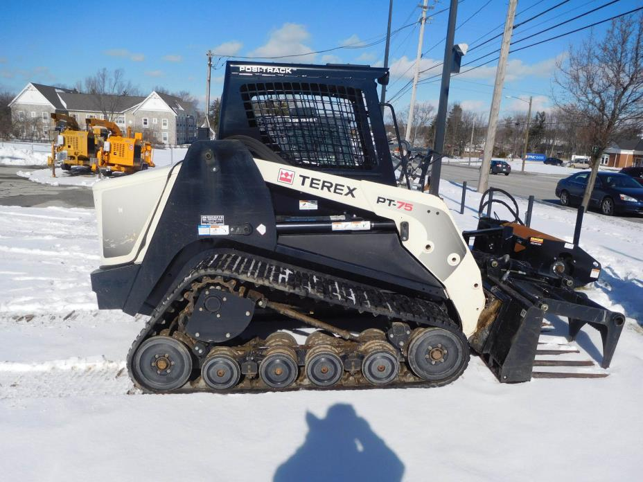 Terex PT75 Tracked skid steer