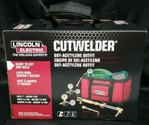 Lincoln Electric Cut Welder Kit Cutting Welding KH838