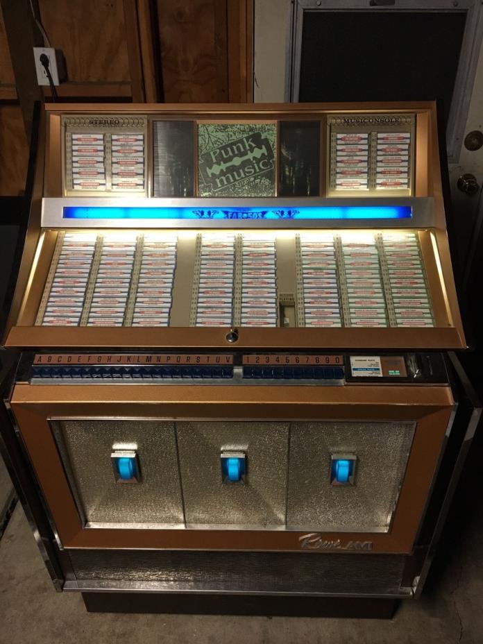 1965 Rowe AMI Diplomat Jukebox For Parts Or Repair