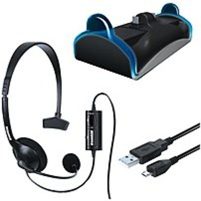 Dreamgear DGPS4-6411 Playstation 4 Charge and Chat Bundle