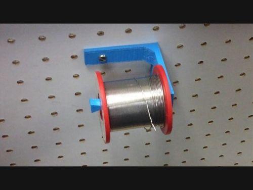 3D Printed Pegboard Solder Holder