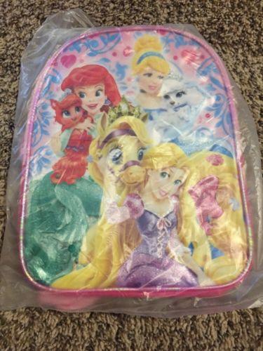 Mini Disney Princess Book Bag NWT