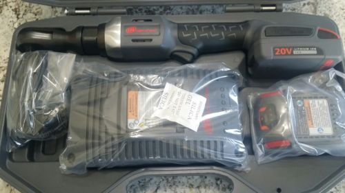 Ingersoll Rand R3130-K22 Cordless Ratchet with 2 Li-on Batteries, Charger and