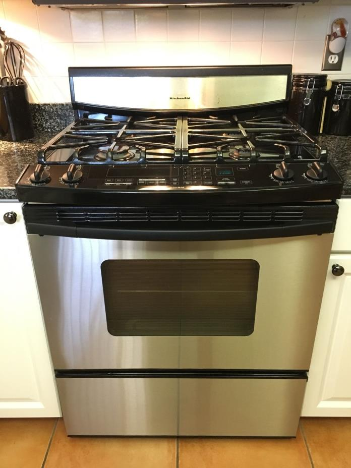 Marvelous KitchenAid Gas Range Convection Oven 30