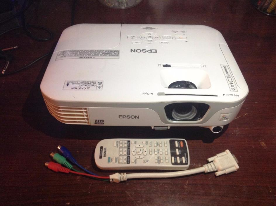 Epson Home Cinema HD710 LCD Projector (H475A)
