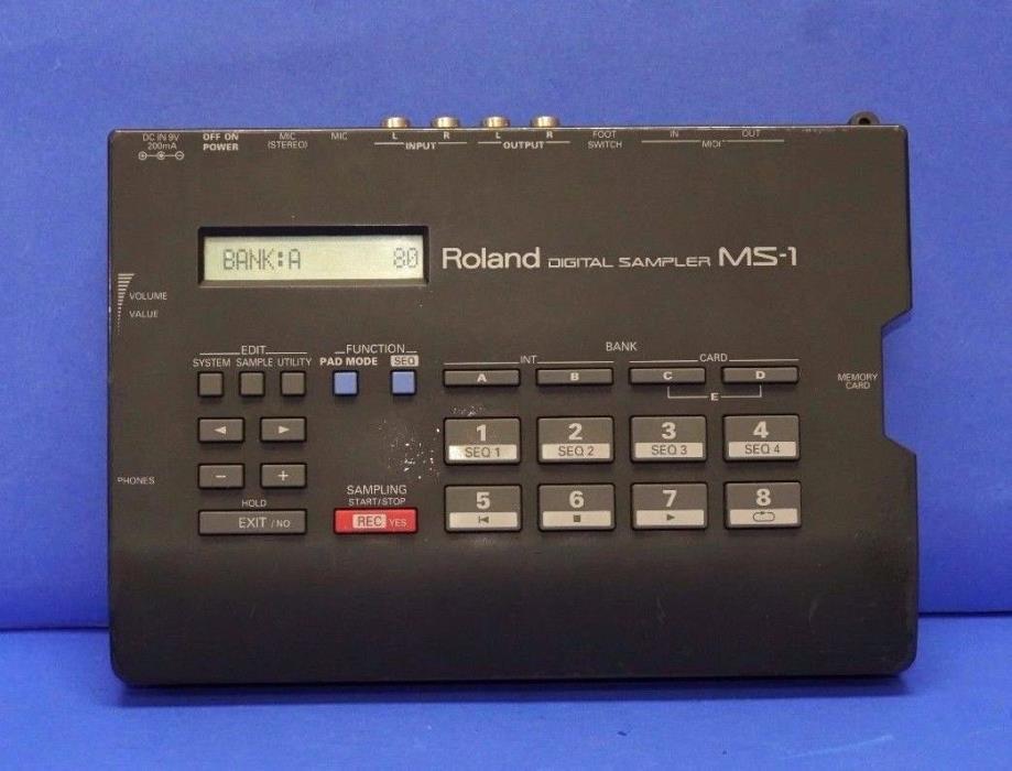 Roland MS-1 Digital Sampler from JAPAN