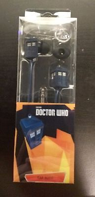 Doctor Who Earbuds Tardis NEW!!! FREE SHIPPING!!!