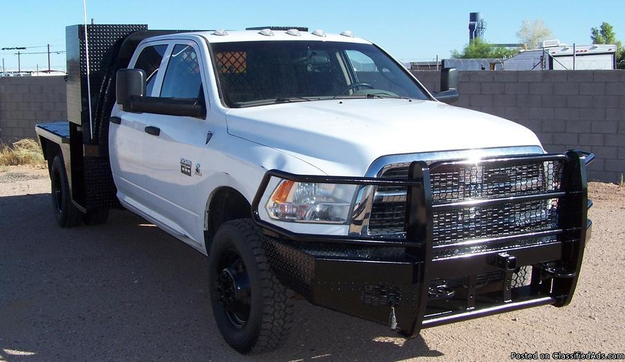 2012 Dodge Ram 3500 HD Quad Cab 4x4