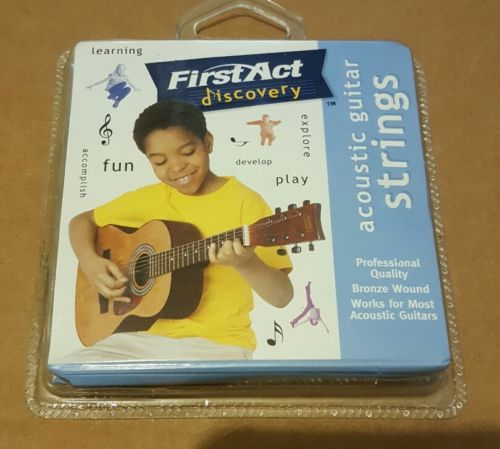 Discovery First Act Acoustic Guitar Strings