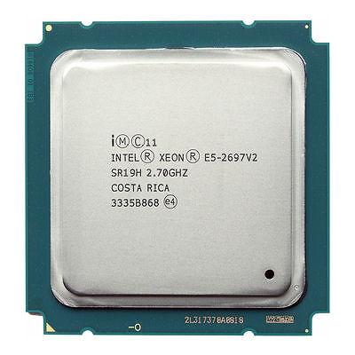 Intel Xeon Processor E5-2697v2 CPU 2.7GHz 12-Core Max 3.5GHz SR19H
