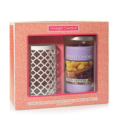 Yankee Candle Quatrefoil Pillar Candle Holder
