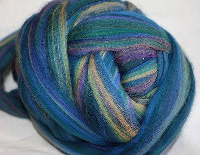 Merino Wool Top Roving English Garden 1 Pound