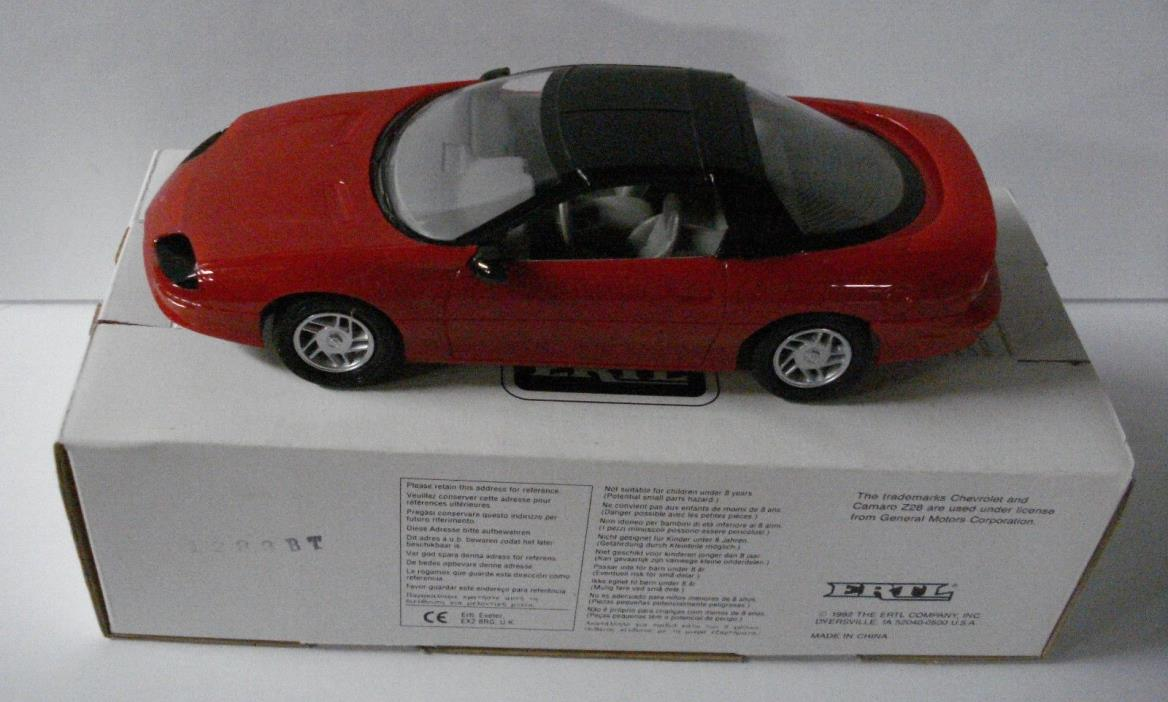 1993 Chevrolet Camaro Z-28 Torch Red #6121 Dealer Promo Car With Box
