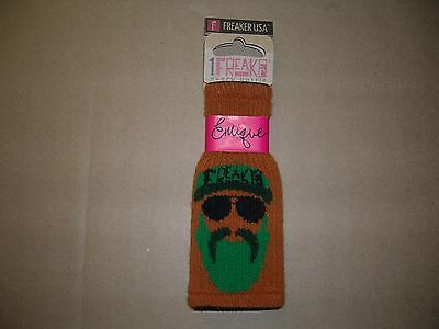 Freaker Beverage Drink Can Insulator Koozie ENRIQUE. Made in USA. NEW