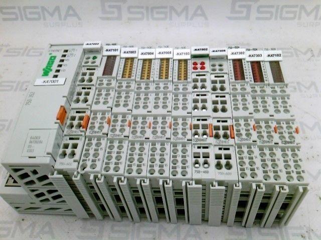 Wago 750-352 Ethernet Fieldbus Coupler w/11 Modules
