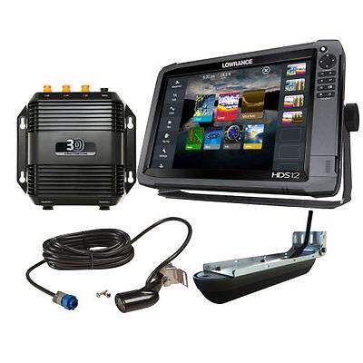 Lowrance HDS-12 Gen3 Fishfinder/Chartplotter w/ 83/200KHz Transducer