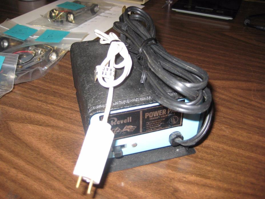 Used Vintage 1965 Revell Slot Car Track Transformer (see picture)