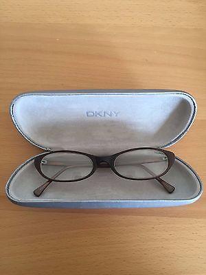 DKNY Brown Plastic Glasses Frames