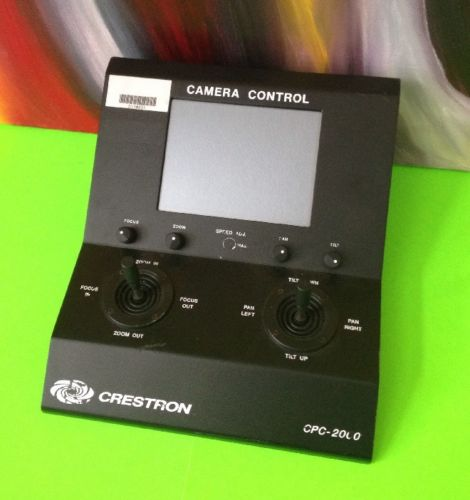 Crestron CPC-2000A (Camera Control / Pan Tilt / Zoom)