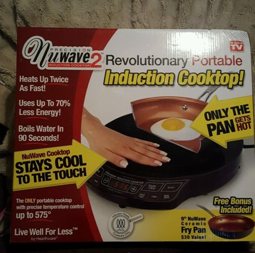NEW NuWave 2 Precision Portable Induction Cooktop 9