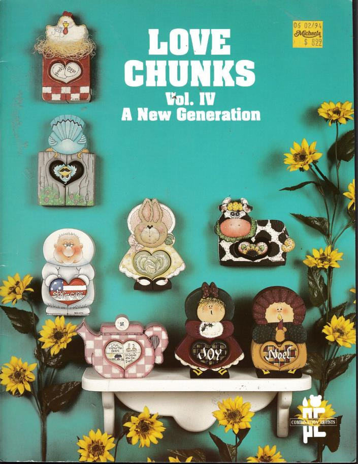 LOVE CHUNKS VOL. IV A NEW GENERATIONS PAINTING PATTERN BOOK