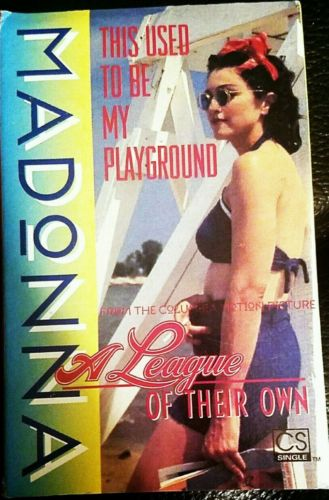 Madonna This Used To Be My Playground USA Cassette Single Card Sleeve League Own